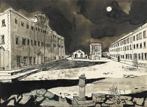 Deserted Garrison, 1947 by John Minton.
