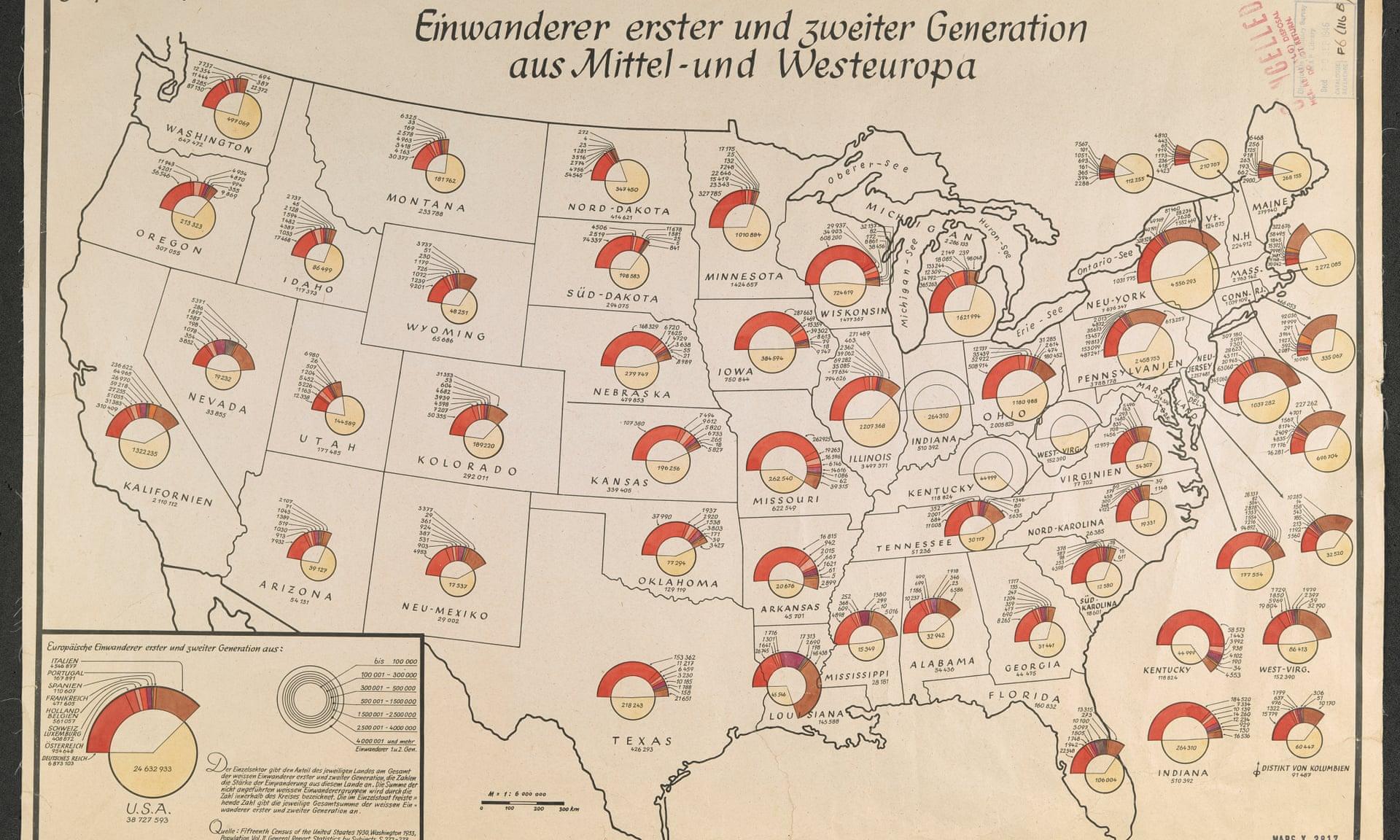 Population Distribution Over Time History US Census Bureau - 1920 map of us