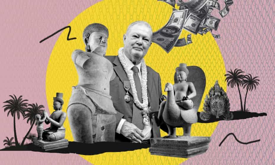 Douglas Latchford and Khmer artefacts
