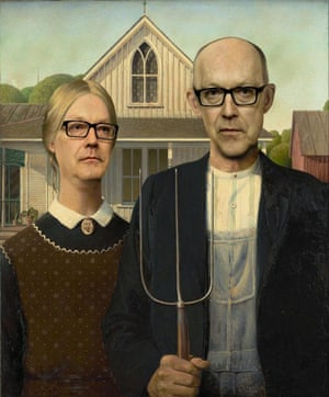 Australian Gothic (after Grant Wood)