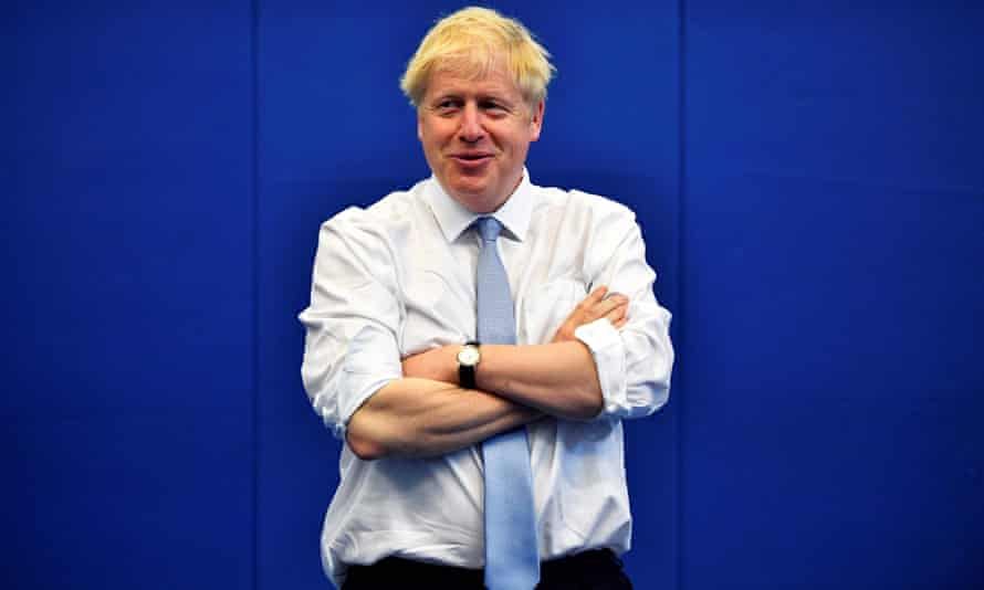 Ideologically provocative … Boris Johnson.