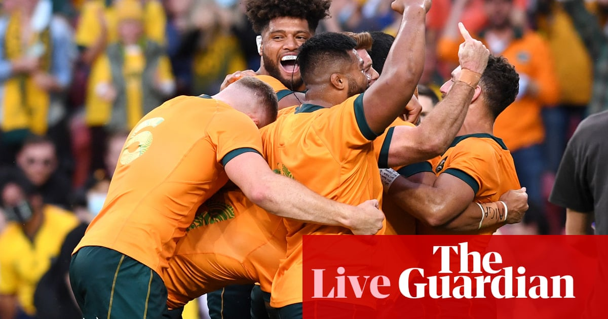 Australia Wallabies v South Africa Springboks: Rugby Championship 2021 – live!