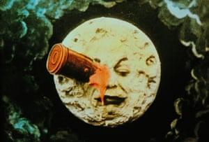 Le voyage dans la lune (A Trip to the Moon) by French director Georges Méliès, 1902.