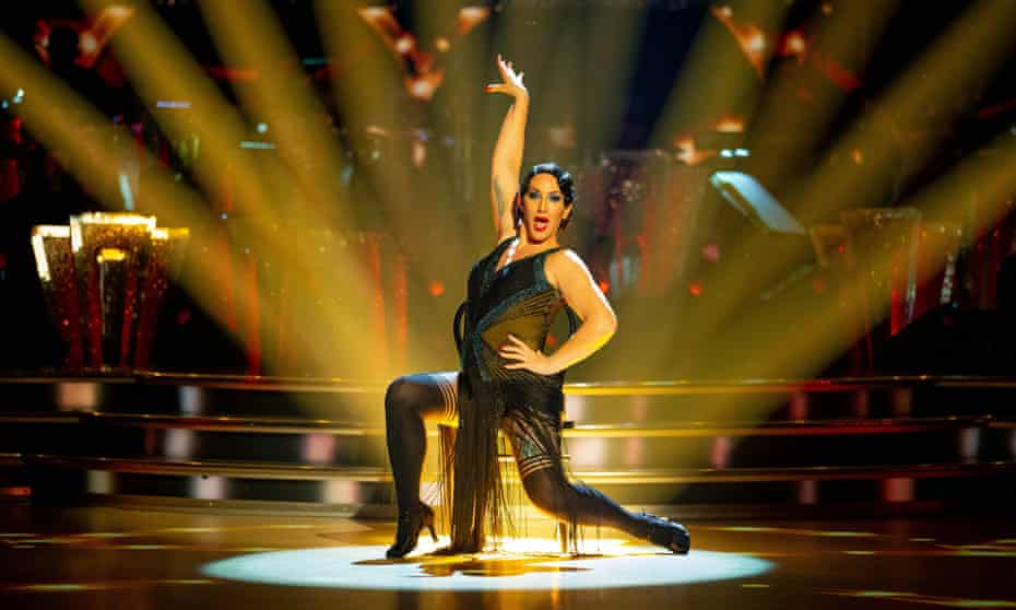 On Strictly Come Dancing.