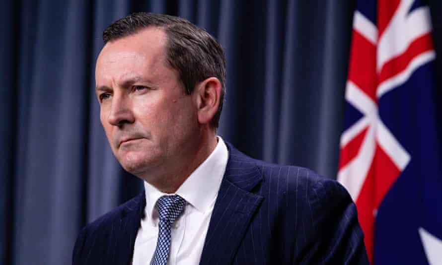 The WA premier Mark McGowan says NSW is letting down the entire country.