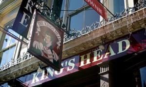 The King's Head theatre pub in north London.
