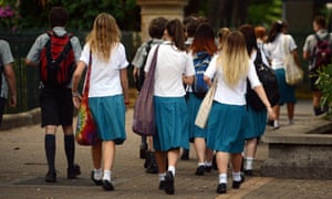 Some schools have had to deal with complaints over the decency of skirts