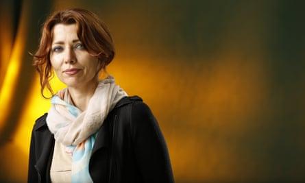 Elif Shafak … interviewed at Glastonbury.