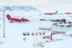 Spirit of Travel: Andy Holliman (UK) – Kangerlussuaq airport, Greenland