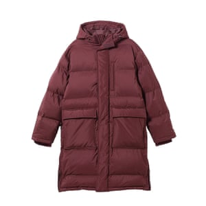 Editor's pick Extra warm, eco-friendly and chic, this will see you through the colder months Recycled polyester burgundy duvet coat, £140, weekday.com.
