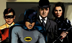 The variant cover of Batman '66 Meets Steed and Mrs Peel