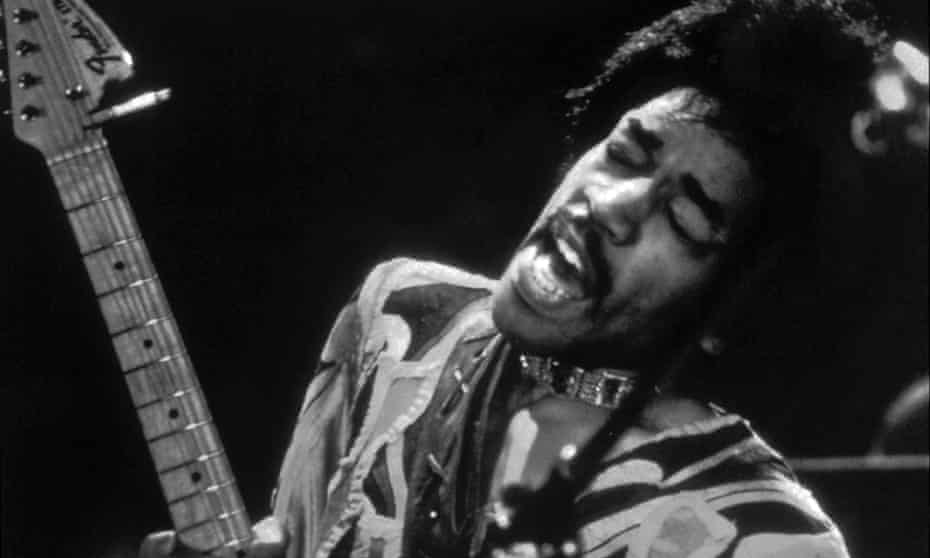 Jimi Hendrix, pictured in 1970