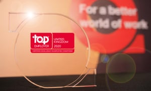 Top Employer UK 2020 Award