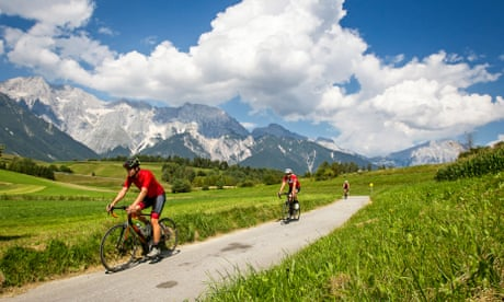 Peaks and troughs: cycling and eating in Austria's Tyrol