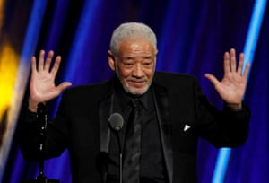 Bill Withers being inducted to Rock and Roll Hall of Fame in 2015.