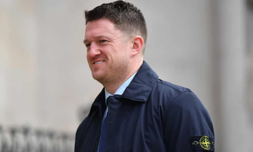 Tommy Robinson, real name Stephen Yaxley-Lennon, arrives at court in London last month