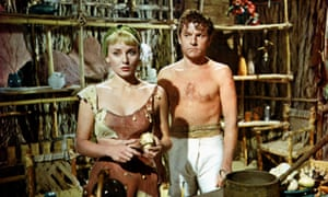 Terrifically watchable ... Diane Cilento, left, as Tweeny, and Kenneth More in The Admirable Crichton