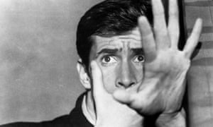Anthony Perkins in Psycho, a film full of deviant and morally ambiguous behavior.