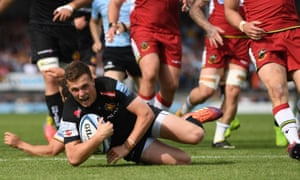 Exeter have reached the Premiership final for the fourth successive year under director of rugby Rob Baxter.