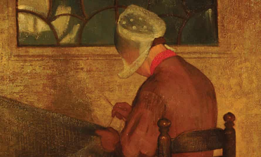 The Net Mender (detail), 1899-1900, by Marianne Stokes.