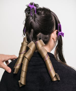 "The ""permage"" technique using Curlformers, by Jack Howard at Paul Edmonds."