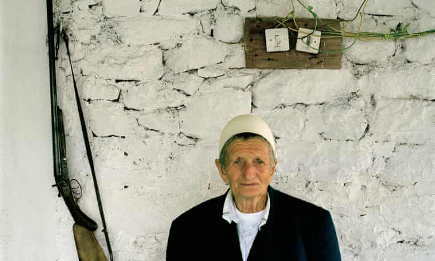 Albanian Sokol Zmajli, 80, changed her name from Zhire when she was young.