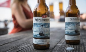 Störtebeker's Atlantic Ale is the brewery's most recent new variety of alcohol-free beer.