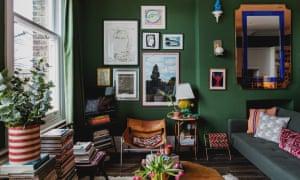 Designer Duncan Campbell's Victorian London flat