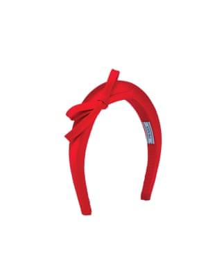 Satin bow, £170, prada.com