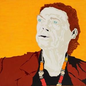 Louise Voigt, CEO Barnardos Australia (after retinal detachment) by Guy Morgan.