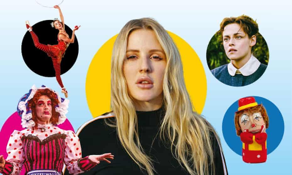 Snow; Ellie Goulding; Lizzie; Clowns: The Eggs-hibition; Mother Goose Cracks One Out!