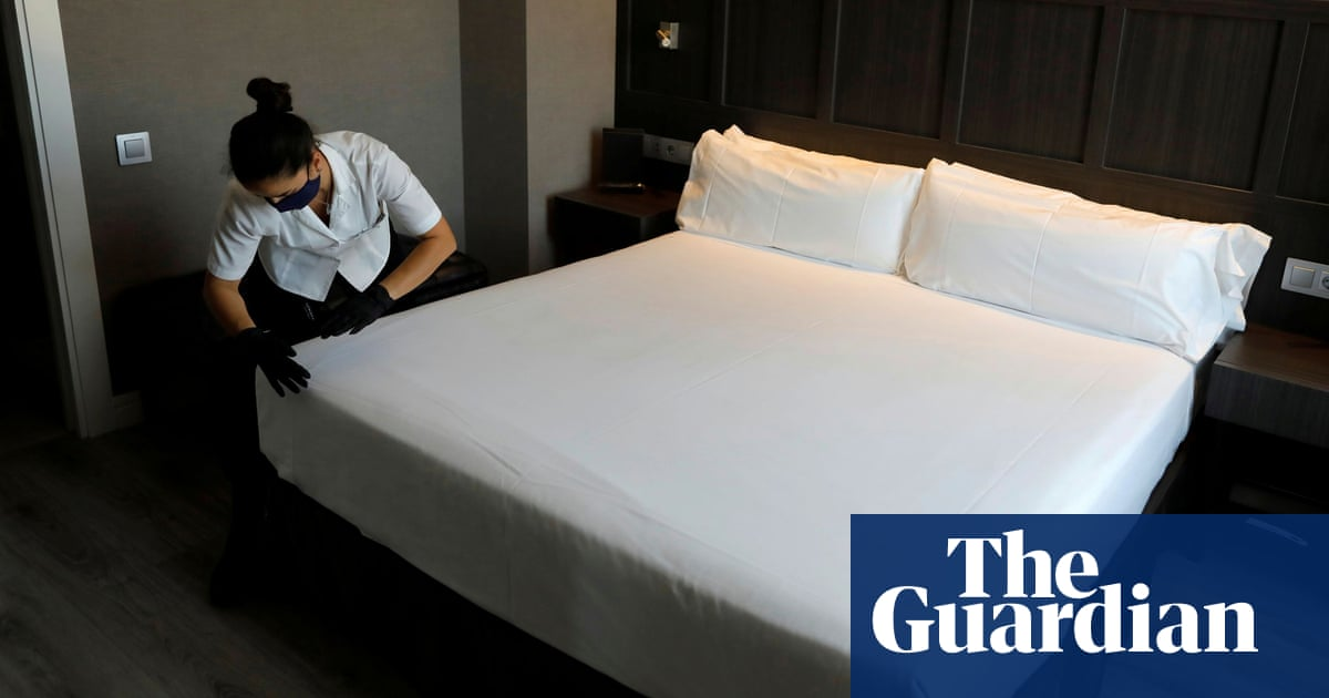 Five stars for staff working conditions on new hotel booking app