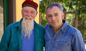Terry Riley, left, with Charles Hazelwood.