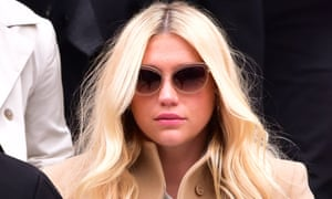 Kesha … Leaving court in New York following last month's hearing.