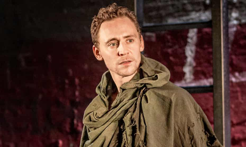'A vessel of blistering rage but tender and vulnerable, too' … Tom Hiddleston as Coriolanus at the Donmar.