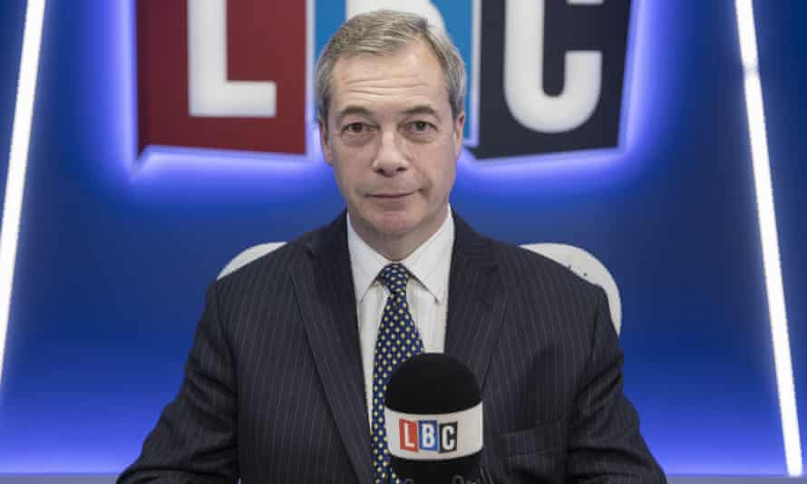 The Nigel Farage Show runs from Monday to Thursday.