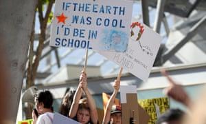 Young activists in San Francisco, California.