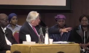 Michael Mansfield introduces representatives and family of Jeremiah and Zainab Deen at the Grenfell Tower fire inquiry