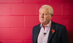 Paddy Ashdown was employed as an intelligence officer for a stint. He was photographed at Kings Place, London, before a Guardian Live event on 10 September 2015.