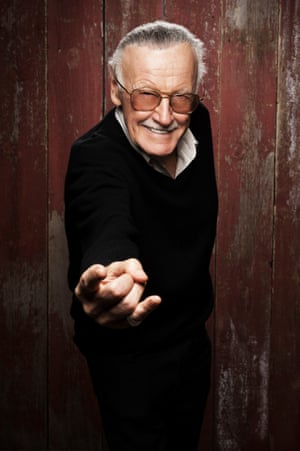 Stan Lee throws a web at Sundance 2012