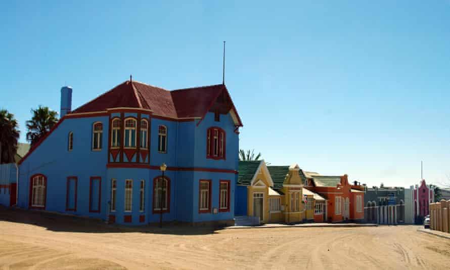 The Namibian town of Lüderitz