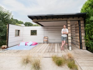 Scaffold Board Summer House – owned by Scott Stickland