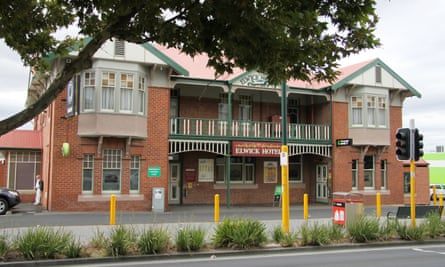 The Elwick hotel in Glenorchy in Tasmania