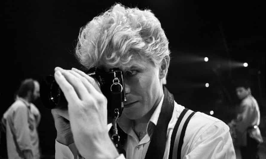 David Bowie on the Toronto leg of his tour