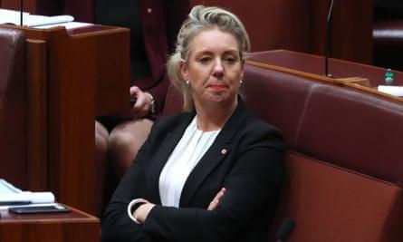Australia's former sport minister Bridget McKenzie