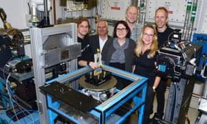 Team of scientists behind high-tech machine