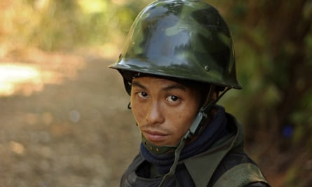 A rebel Kachin Independence Army soldier in Myanmar: the KIA will not take part in today's ceasefire deal.