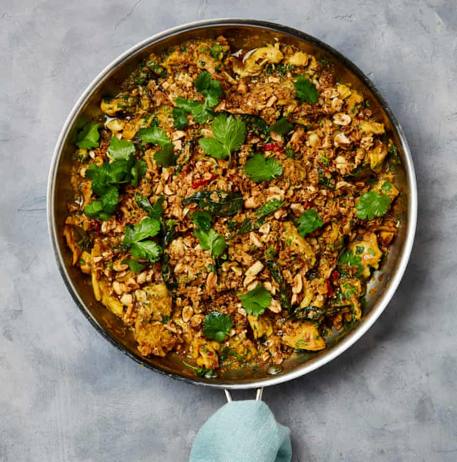 Yotam Ottolenghi's curry 'crumble'