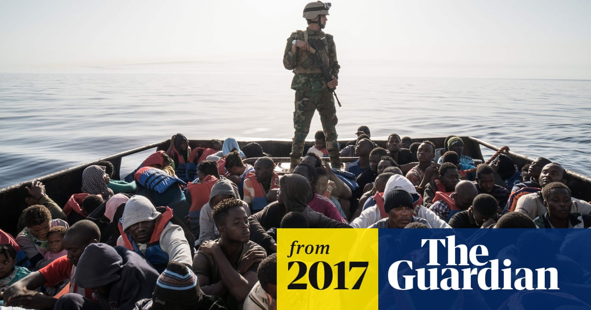 5f8f9f987f218 Number of migrants arriving in Italy from Libya falls by half in July