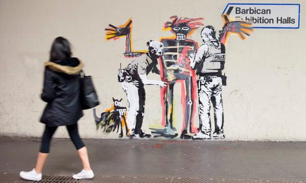 timeless design e002e 38d3f Banksy auction stunt leaves art world in shreds | Art and ...